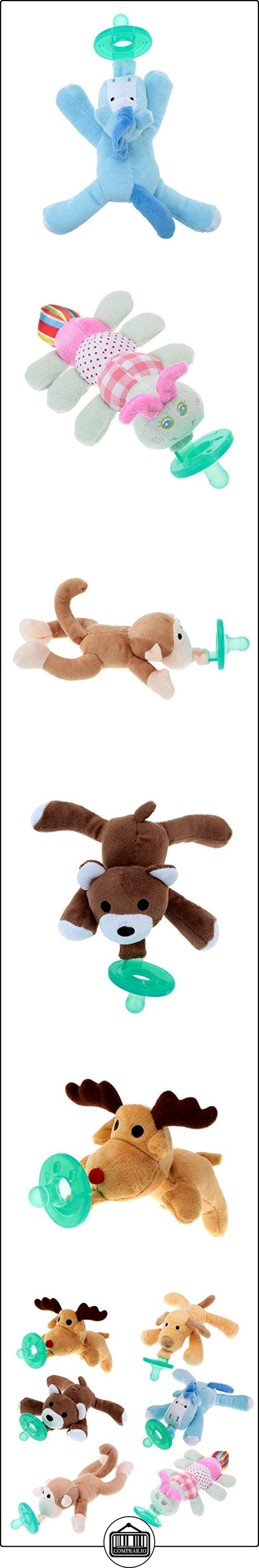 MaxCrest (TM) Lovely alta calidad Cartoon Cute bebé bebé chupetes de silicona con peluche non-toxictool seguro-Biberón de pezones  ✿ Regalos para recién nacidos - Bebes ✿ ▬► Ver oferta: http://comprar.io/goto/B019IJYXW4
