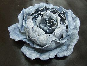 Цветы из джинсовой ткани - Страница 7