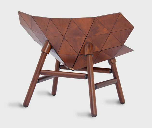 unique wooden furniture. unusual chairs unique wooden chair inspired by exoskeleton u2013 exo furniture w