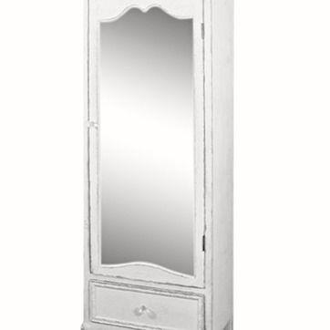 Franskt SKÅP / GARDEROB med Spegeldörr