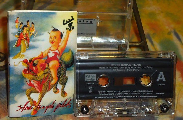 Stone Temple Pilots - Purple - Atlantic Records - 1994 - Cassette
