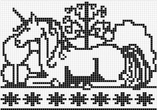 WitchWolfWeb Creations: Garden of the Unicorn
