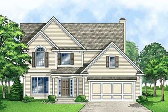 Traditional Style House Plan 4 Beds 2 5 Baths 1943 Sq Ft Plan 67 478 House Plans Traditional House Plans House