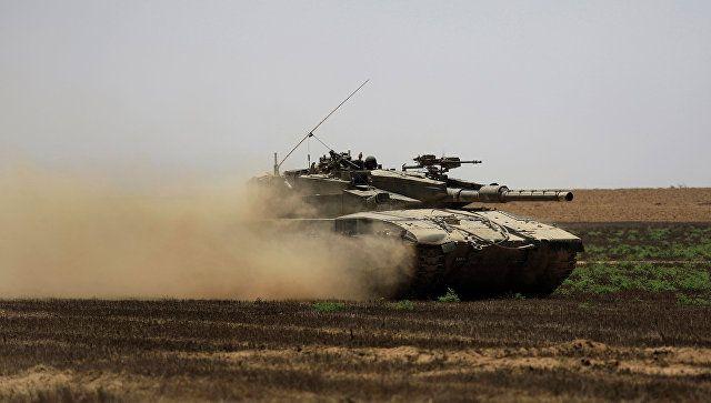 Το Κουτσαβάκι: Ισραηλινό Τανκ  επιτέθηκε σε μια θέση μαχητών στη ...
