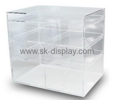 Perspex suppliers customize clear large acrylic display box containers DBS-234