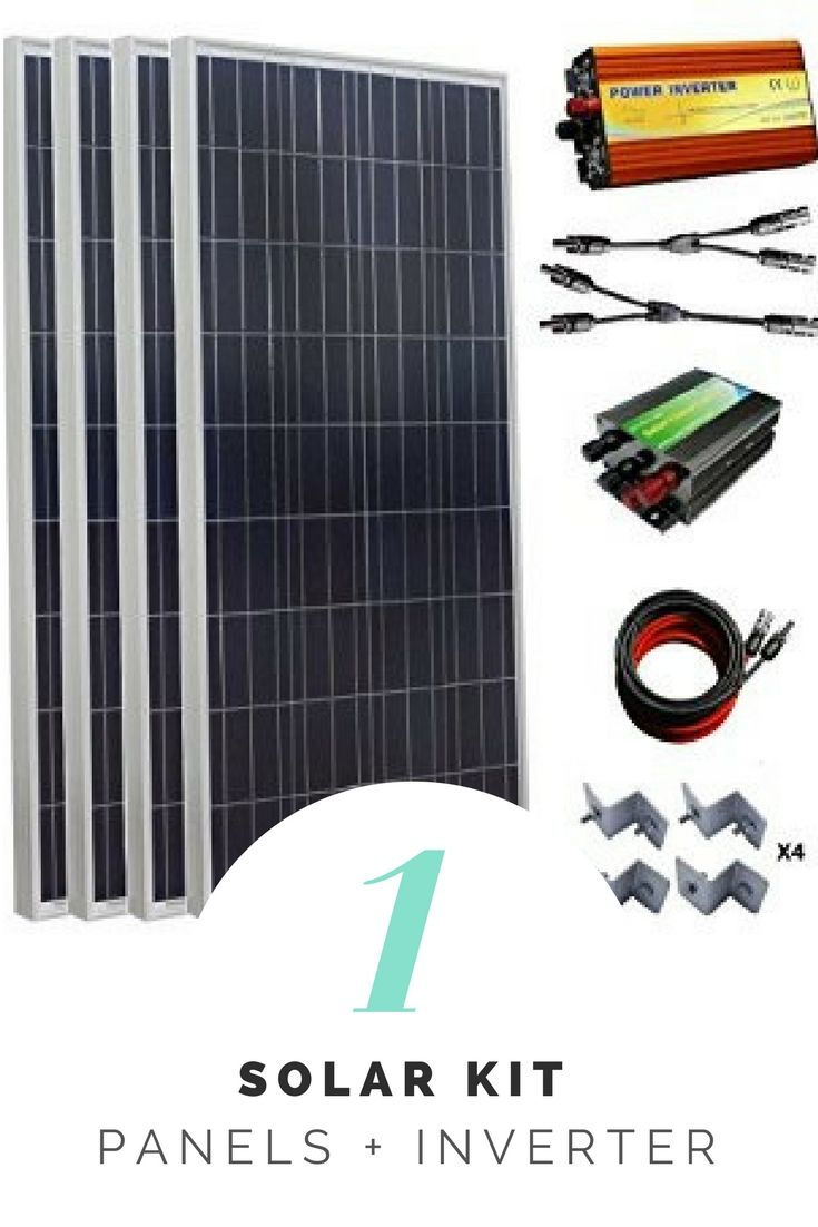 Eco Worthy 900w 1kw 24v Off Grid Solar Panel Kit 6pcs 150w Poly Solar Panels Solar Charge Controller 1500w Pure Sin Solar Panel Kits Solar Power Kits Solar Kit