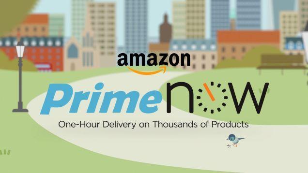 Si no has Probado Amazon Prime Now, Usted Puede ganar $20 usd En Créditos Gratis Este fin de Semana
