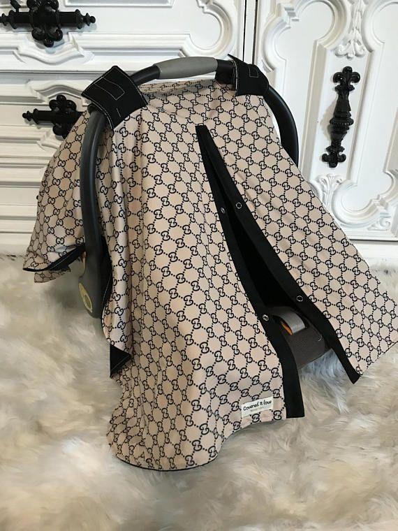 Car Seat Canopy Gucci Inspired Custom GG Seats Baby