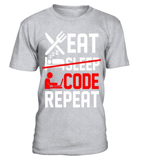 "# Eat Sleep Code Repeat Funny T-shirt Gift For Programmer .  Special Offer, not available in shops      Comes in a variety of styles and colours      Buy yours now before it is too late!      Secured payment via Visa / Mastercard / Amex / PayPal      How to place an order            Choose the model from the drop-down menu      Click on ""Buy it now""      Choose the size and the quantity      Add your delivery address and bank details      And that's it!      Tags: Eat sleep code repeat…"