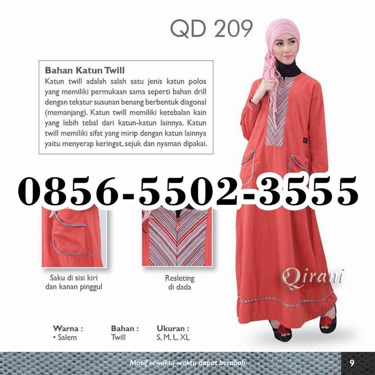 Gamis Qirani September 2016, HP.0856-5502-3555,