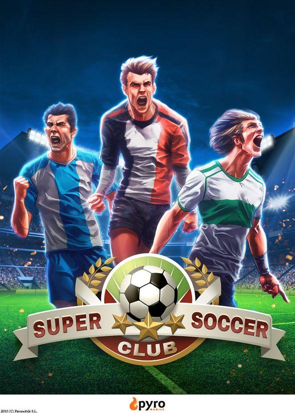 Super Soccer Club poster, portrait.