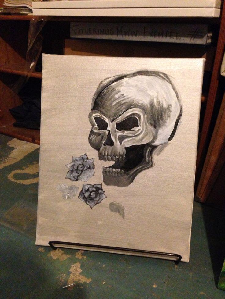 akryl på canvas in progress...