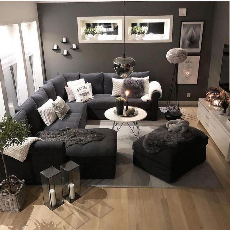 Pin By Vania Cruz On Sala In 2021 Living Room Decor Apartment Apartment Living Room Living Room Decor Cozy