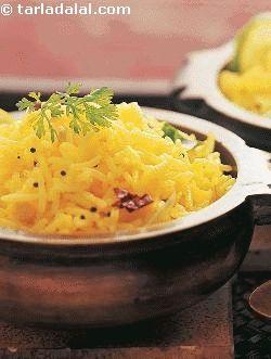Lemon Rice ( South Indian Recipes ) recipe | South Indian Recipes | Idli Recipes | Dosa Recipes | by Tarla Dalal | Tarladalal.com | #32891