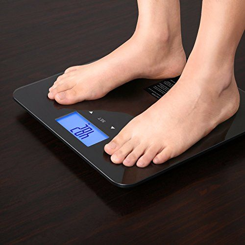Smart Body Fat Scale, Electronic Weight Scale, HYLOGY Digital Body Composition Monitor with 7 Fitness Indicators & 90-Day Memory, to Accurately Track Your Health