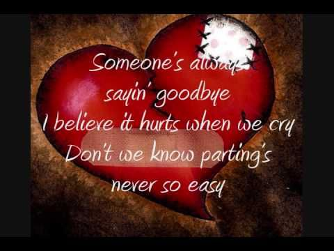♥ღ ♫♥  Someone's Always Saying Goodbye - Toni Gonzaga ...