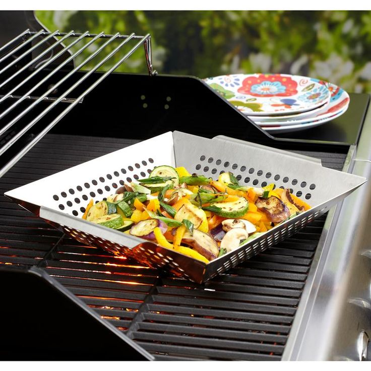Don't drop your veggies through the grill again with a Epicure BBQ Wok. Stainless steel construction won't be damaged by bbq flames.