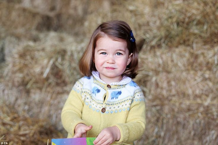 The Duchess of Cambridge photographed Princess Charlotte at their home at Anmer Hall in Norfolk in celebration of her second birthday tomorrow.
