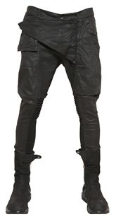 Rick Owens Cargo Pants and Boots, Men's Fall Winter Fashion.