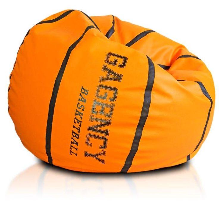 Pallone Di Pallacanestro Ecopuf Cliente Gagency Kids Bean BagsKids Bag ChairsKids