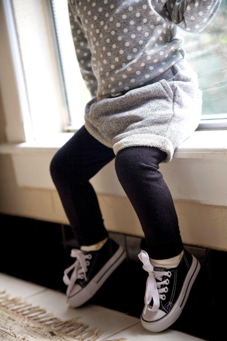 Toddler Style // Photo via Grey Star Kids Blog