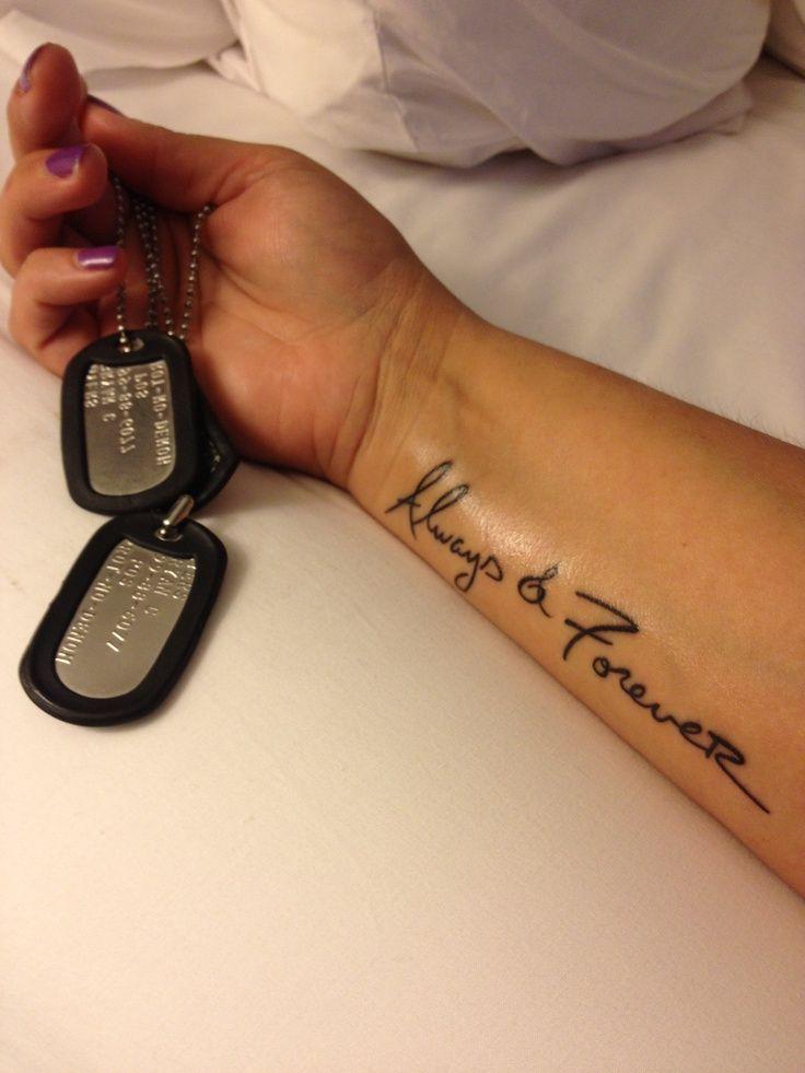 Army Wife Tattoos Army Wife Tattoos http://www.pinterest.com/pin ...