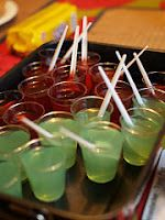 Non-alcoholic jello shots!