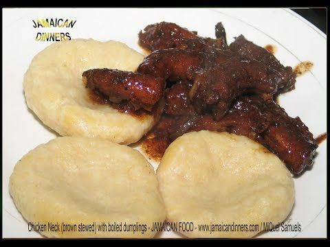 Chicken's Neck Recipe   Learn, How to cook Jamaican food Chicken's Neck.