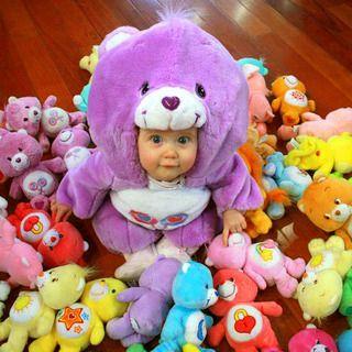 DIY Baby Halloween Costume (de-stuff a stuffed animal)