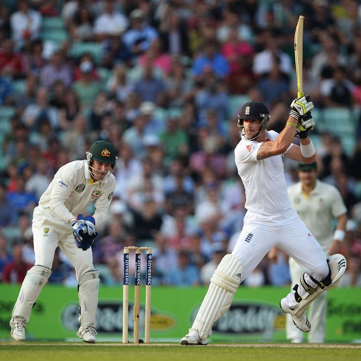 Kevin Pietersen raced to fifty from just 36 balls, England v Australia, 5th Investec Test, The Oval, 5th day, August 25, 2013