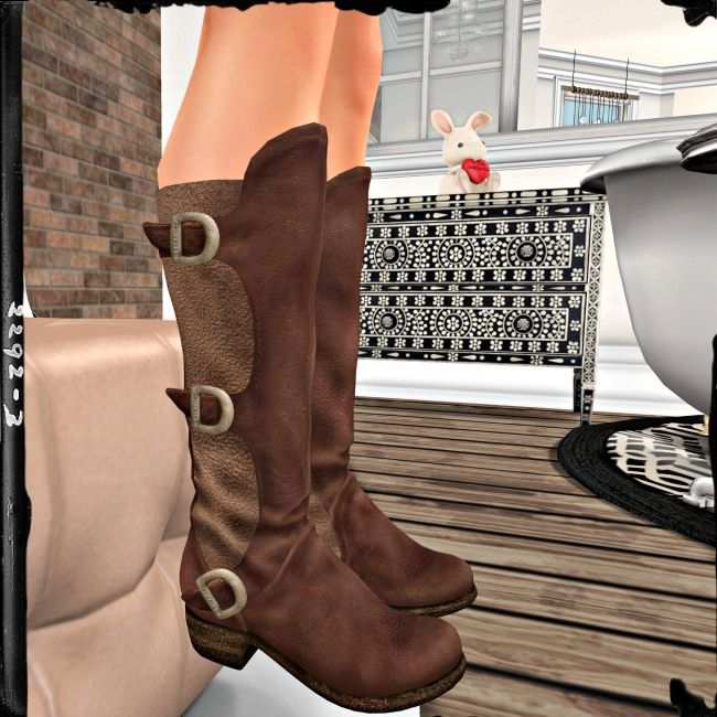 LOTD: These boots were made for wearing...