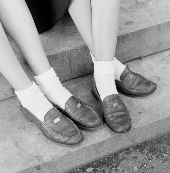 penny loafers    the cool big kids: Shoes, Remember, Schools, 1950S, Childhood Memories, 60S, Things, 1950 S, Pennies Loafers