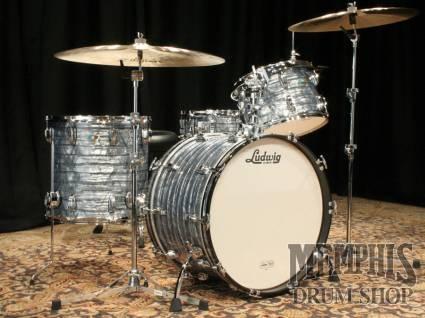 Ludwig Classic Maple Drum Set - Sky Blue Pearl - Custom Configuration