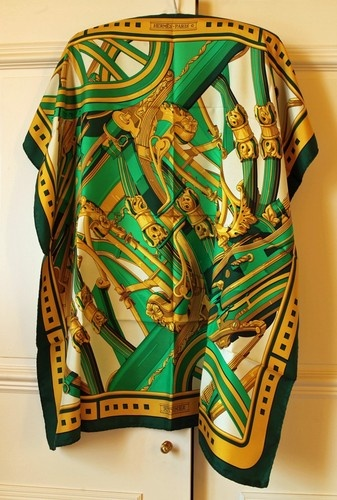 "Stunning Very RARE Hermes Paris Silk Scarf ""Rythmes"" | eBay"