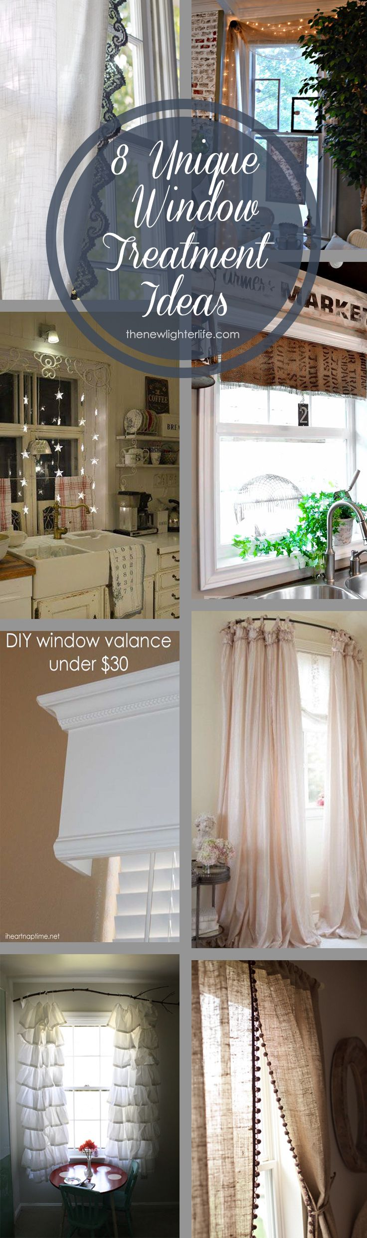 30 lovely kitchen curtain ideas home interior help - Best 25 Unique Window Treatments Ideas Only On Pinterest Vintage Window Treatments Rustic Window Treatments And Window Scroll