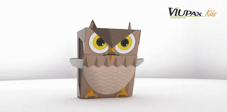 Viupax, la caja de zapatos que quiere salvar el planeta - La Criatura Creativa
