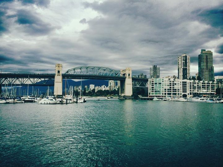Water view from Granville island