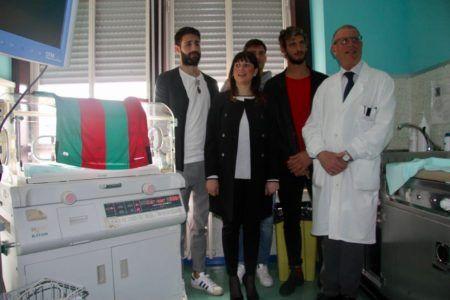 La Ternana Calcio dona un Baby-cooling alla Neonatologia di Terni