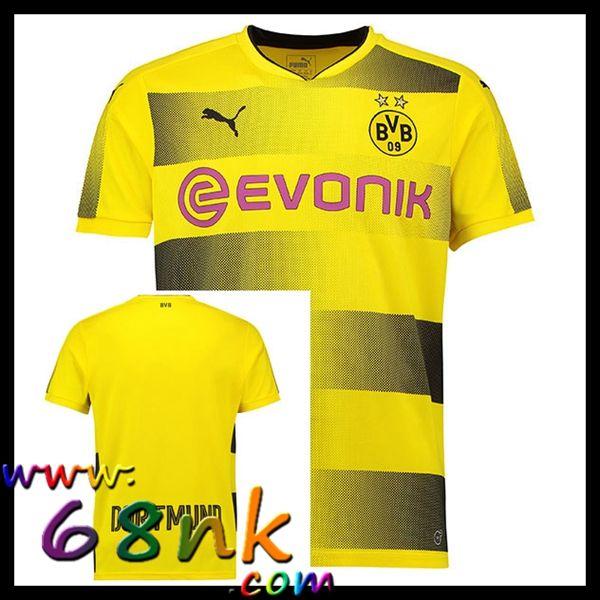 Maillots de football Borussia Dortmund 2017/2018 Homme Domicile