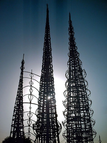 watts towers in los angeles Driving directions to watts towers of simon rodia shp the towers are located at 1765 east 107th street, los angeles, ca.