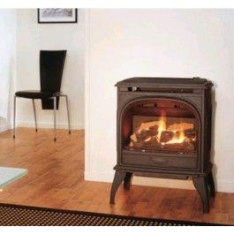 De #Dovre 425GA is een vrijstaande #gashaard die is voorzien van gietijzer. #Gaskachel #Kampen #Interieur #Fireplace #Fireplaces