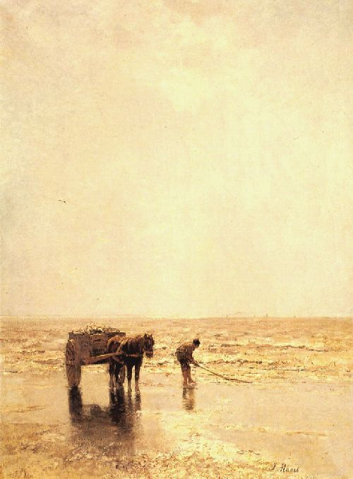 Collecting Shellfish - Jacob Maris