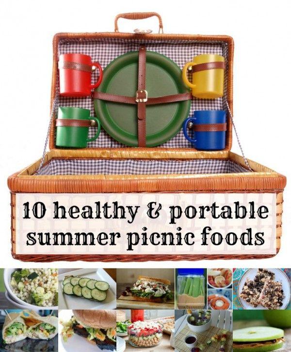 10 Healthy Summer Recipes | remodelaholic.com #picnic #recipes #summer @Remodelaholic .com