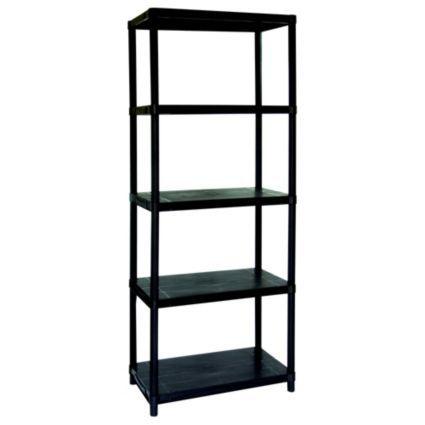 Keter 5 Shelf Plastic Shelving Unit: Image 1