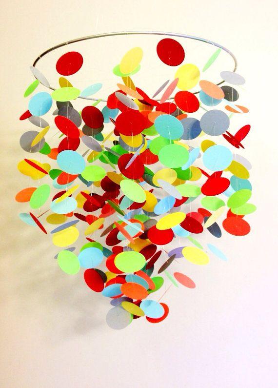 multi color circles mobile