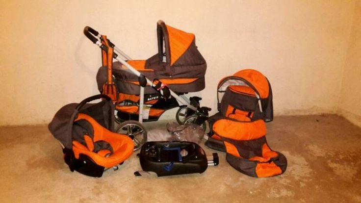 Kombi Kinderwagen ca 8 Monate im gebrauch der Kinderwagen hat eine Babywanne einen Maxicosi mit...,Kombi Kinderwagen/Maxicosi & isofix Babyschale und Sportwagen in Hessen - Kelkheim