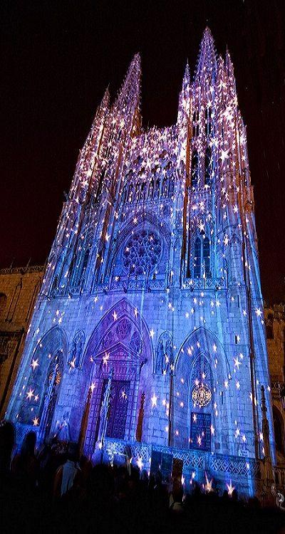 La Catedral de Santa María de Burgos, Spain (by Juan López  via Flickr)