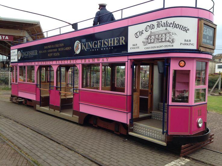 Seaton Tramway, South East Devon, England, UK.