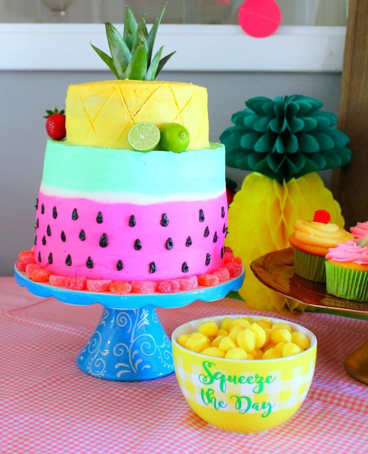 A Twotti Fruity Birthday Party 2 year old birthday