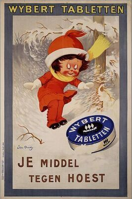 1920 - Wybert, je middel tegen hoest